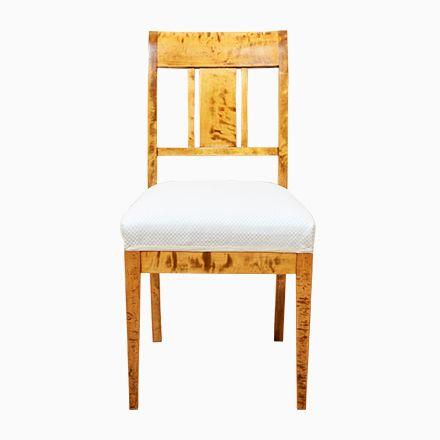 Antique Birch Chairs, Set of 4 Jetzt bestellen unter   moebel - stühle für die küche