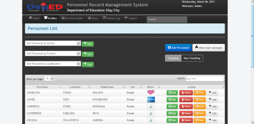 Record Management System In Php Free Website Templates