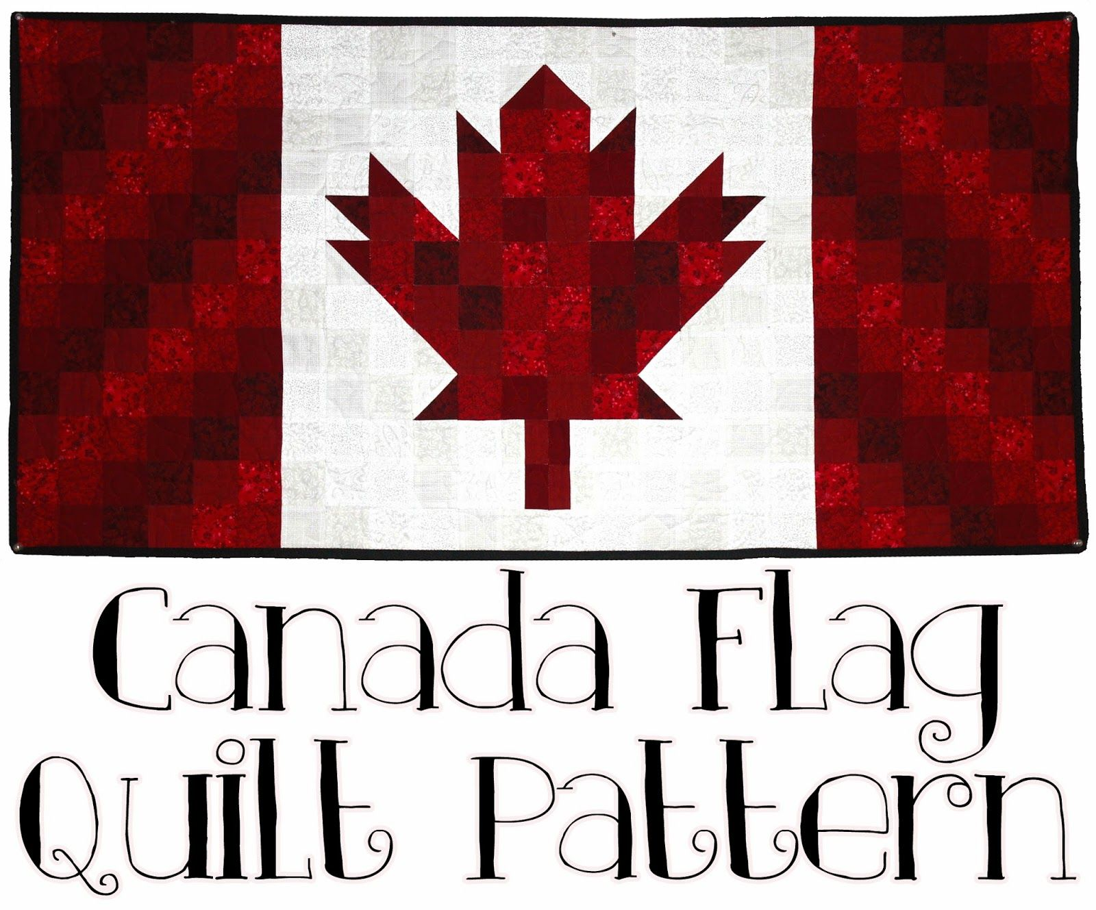 Canada Flag Quilt Pattern | Quilts - Patriotic and Quilts of Valor ... : canadian flag quilt - Adamdwight.com