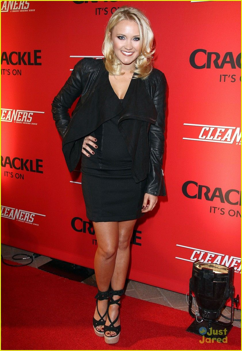 Emily Osment: 'Cleaners' Premiere