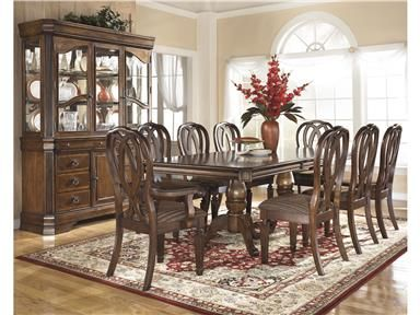 Shop For Ashley Dining Uph Arm Chair 2Cn D52701A And Other Prepossessing Tucker Dining Room Set Decorating Design