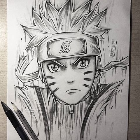 Anime Naruto Drawing