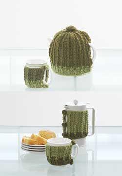 Modern set of matching Tea Cozy