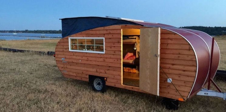 Tiny House Inspired Pop Up Travel Trailer By Home Grown Trailers 0010