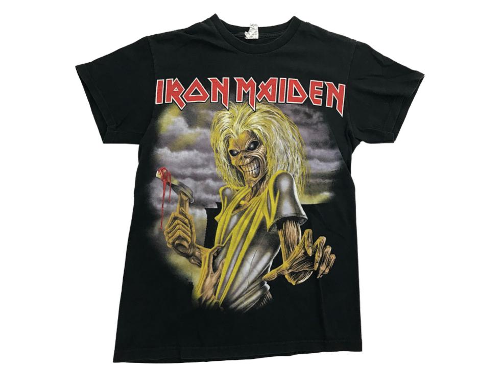 Vintage 90 S Iron Maiden Killers T Shirt Delta Pro Weight Etsy Vintage Band T Shirts Shirts Iron Maiden