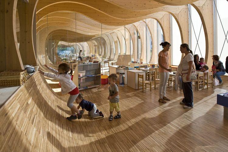 Kinder Garden: Kindergarten In Guastalla / Mario Cucinella Architects
