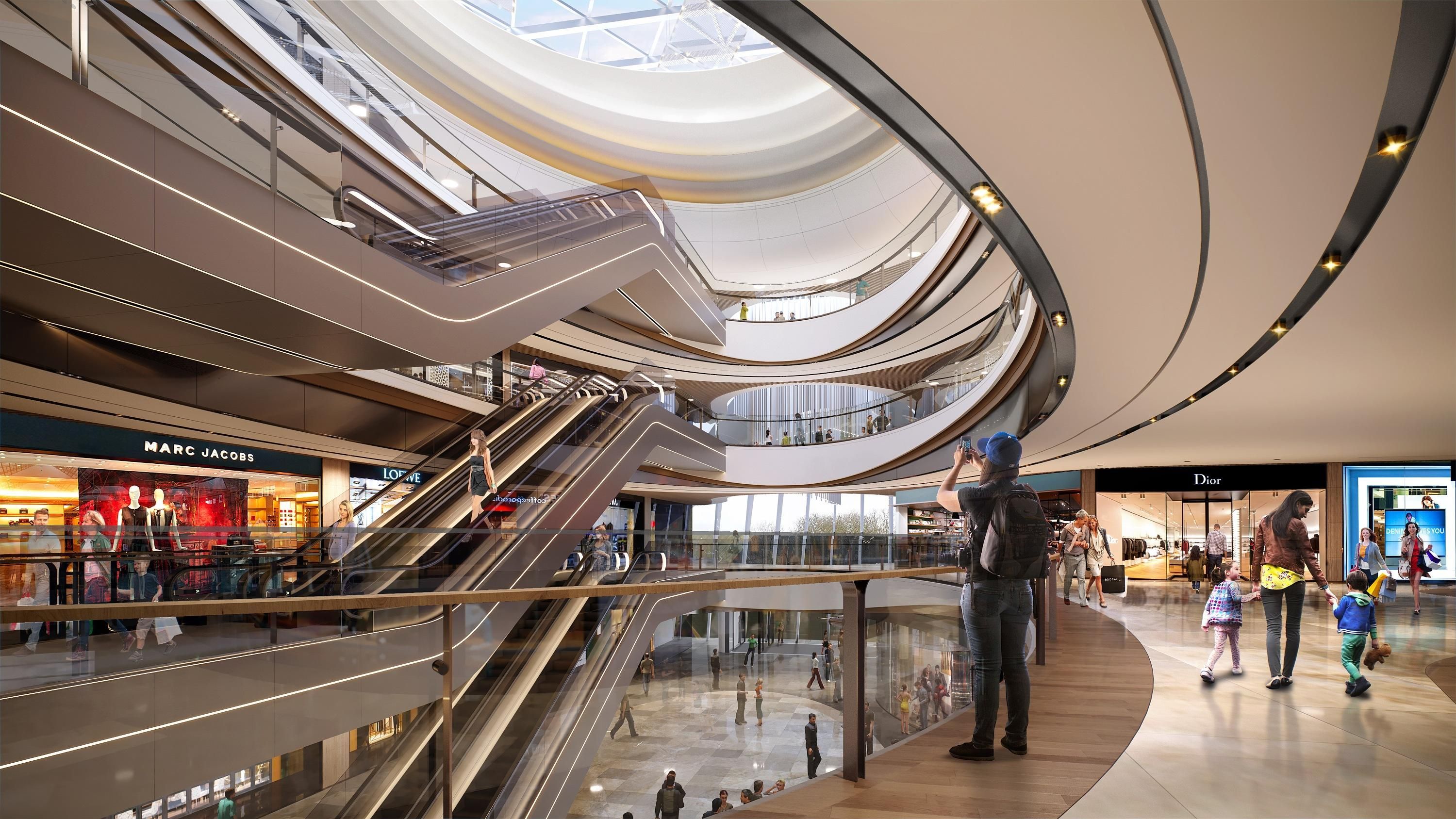 Pin By Kimi On K Mall Shopping Mall Design Mall Design Outdoor