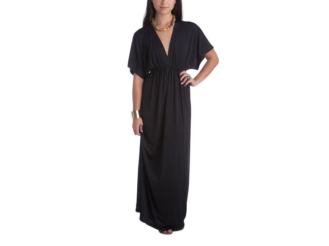 Black deep v long dress my style pinterest black alt and clothes