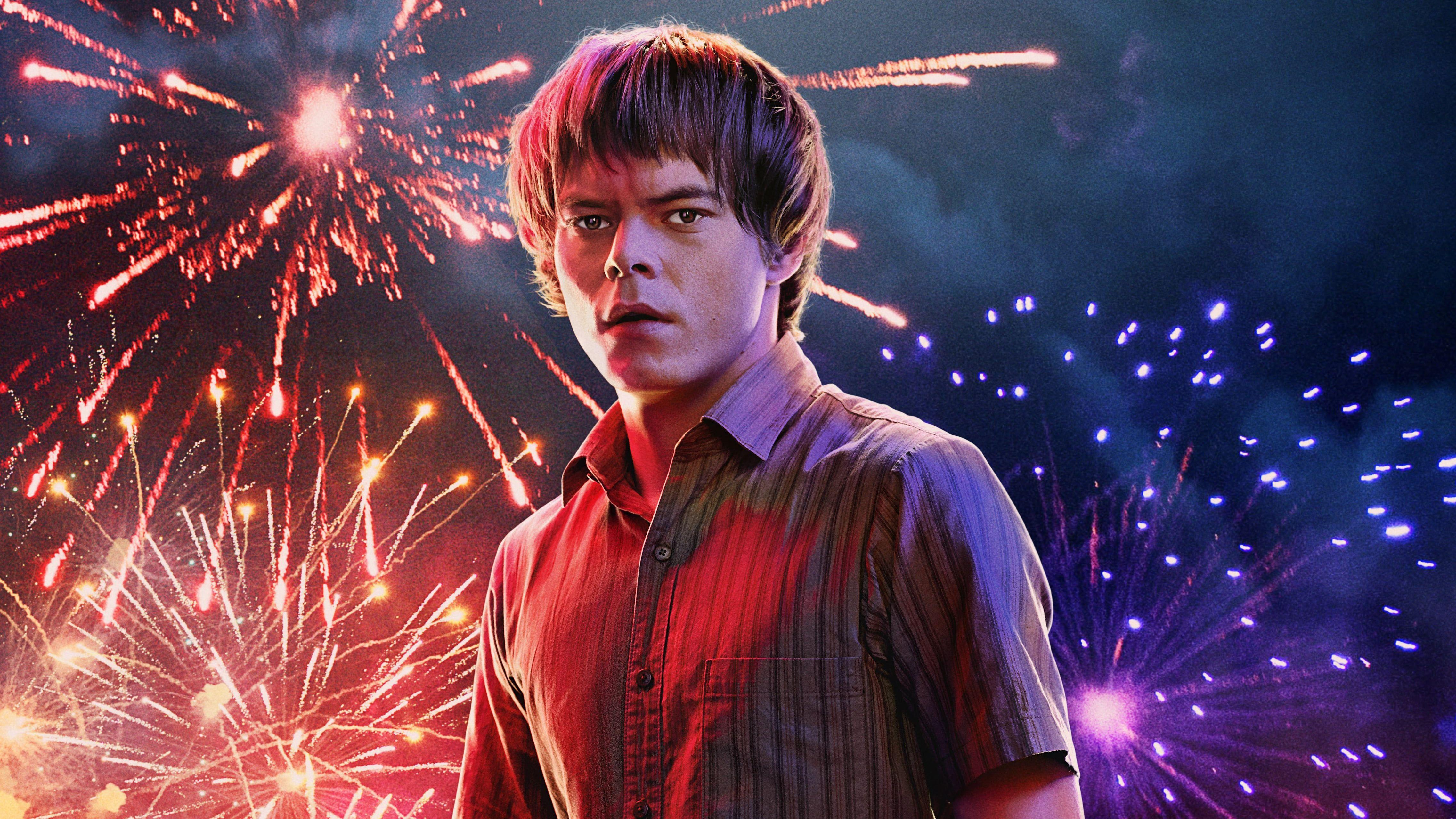 HD wallpaper: TV Show, Stranger Things, Charlie Heaton, Jonathan Byers, Stranger Things - Season 3