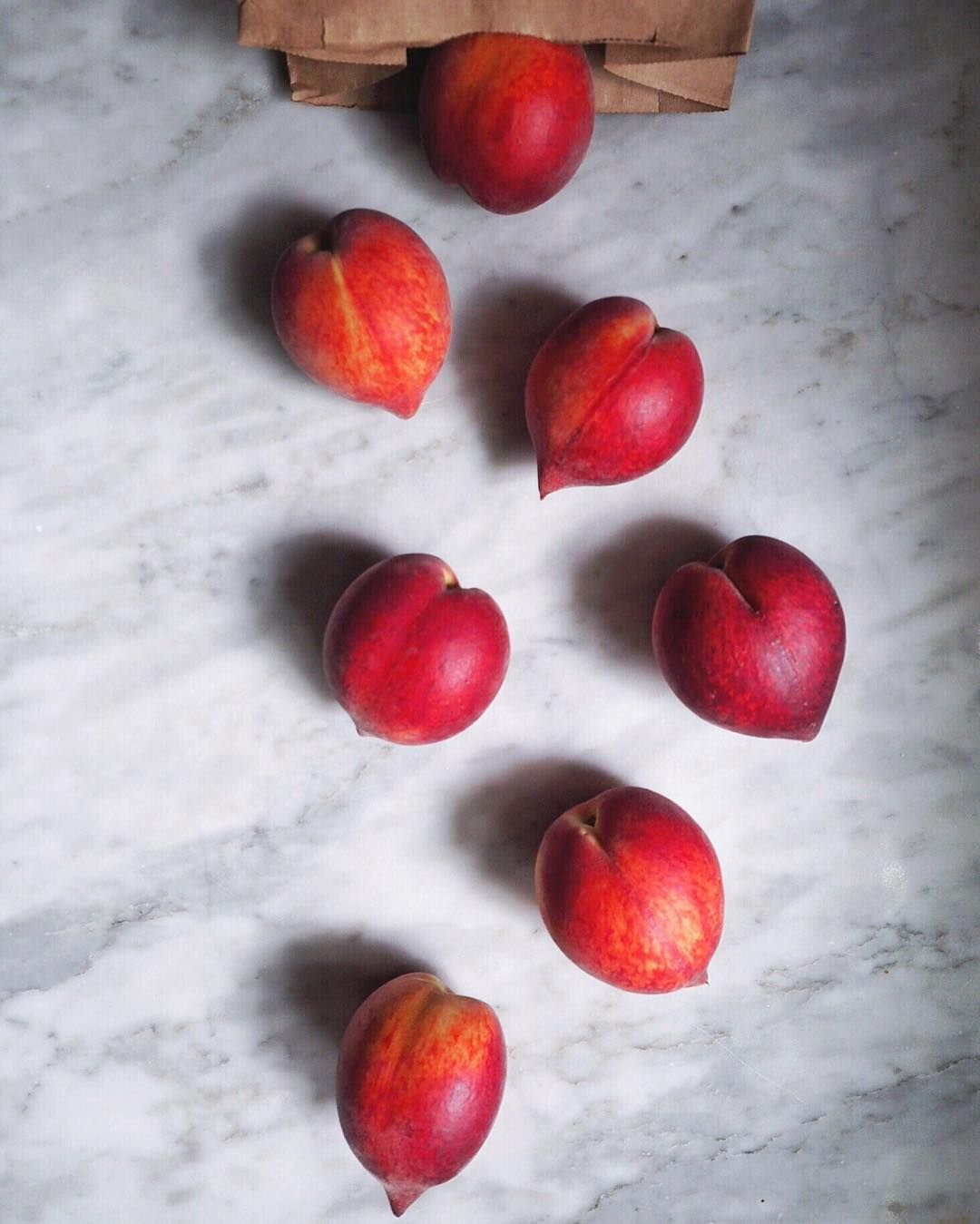 These heart shaped beauties have been picked let peach season