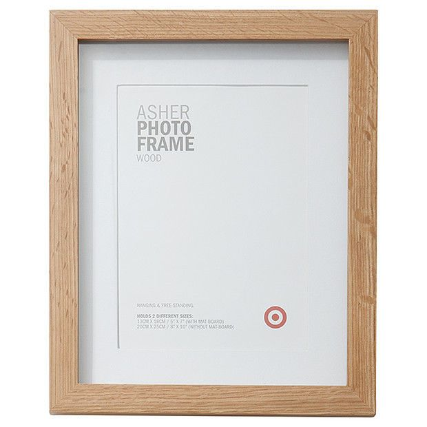 Photo Frame Asher Wooden 13 X 18cm White Photo Holder Photo Frames ...