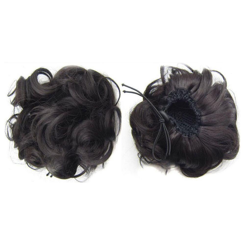 Wig Bun Hair Pack Bridal Wedding natural black | Hair pack and Products