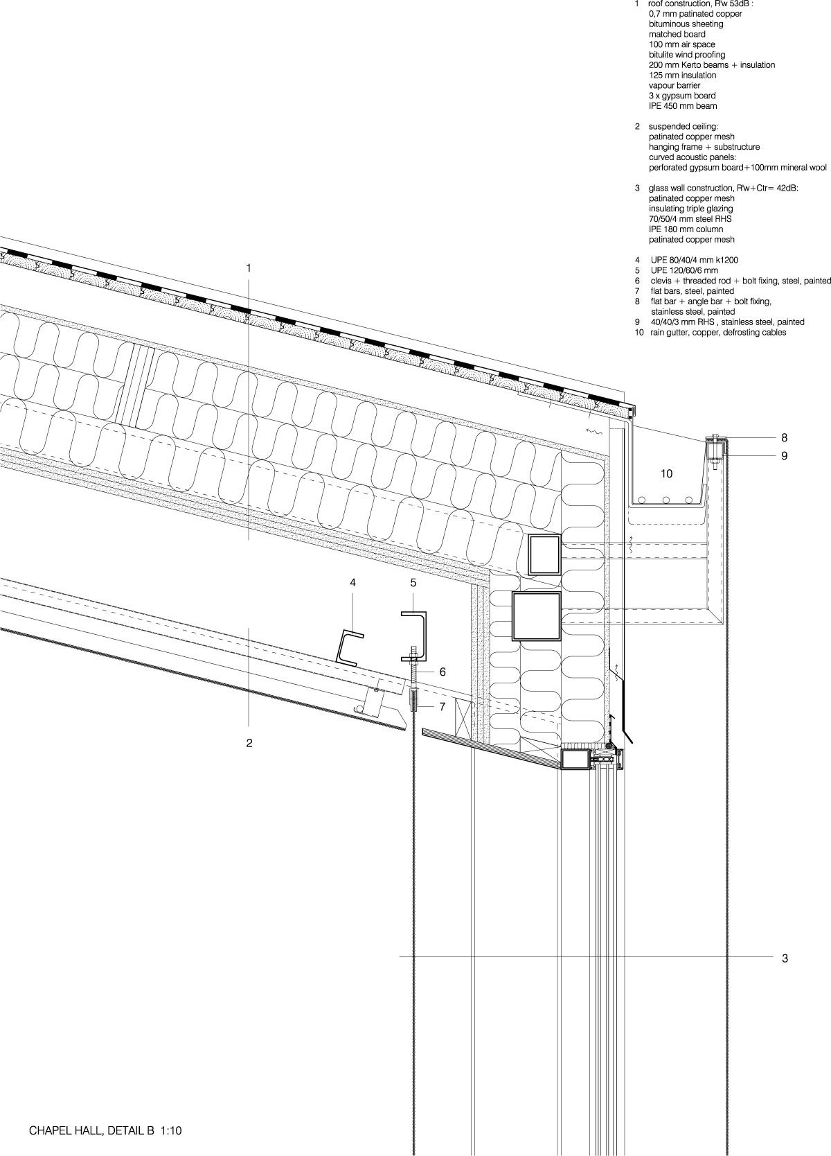Avanto Architects Chapel Of St Lawrence Detalles Constructivos Detalles Arquitectonicos Como Construir