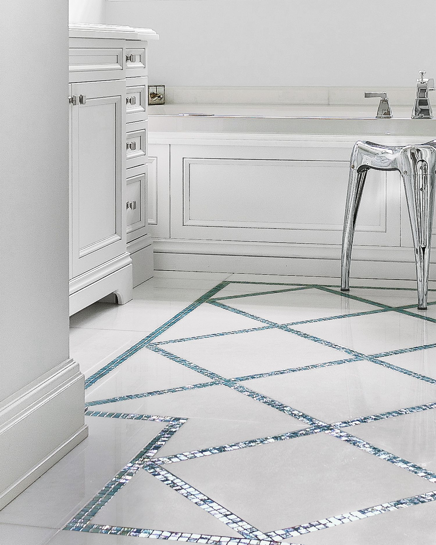 All About Glass Mosaic Tile Marble Bathroom Floor Glass Tile Bathroom Mosaic Bathroom Tile