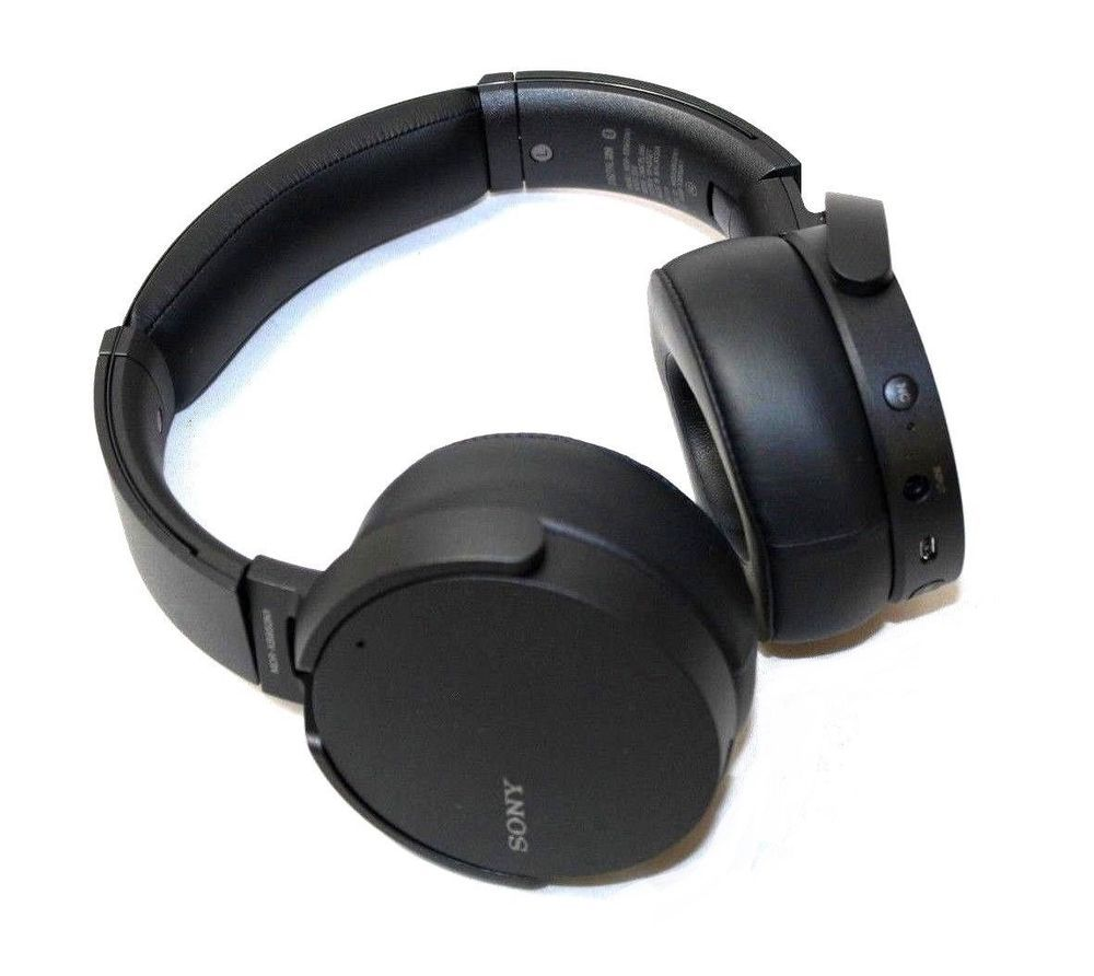Sony Mdr Xb950n1 Extra Bass Wireless Bluetooth Noise Cancelling Headphones Canceling Black Ebay Link