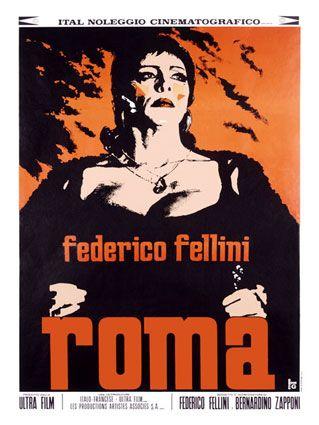 FELLINI ROMA   Affiche de film, Affiche cinéma et Cinéma