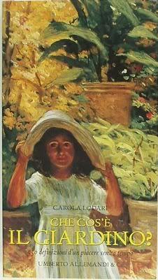 """Un quadrato di giardino :: Discussione: Antonio Saliola: il pittore dei giardini + """"Che cos'è il giardino?"""" (ed Allemandi) (1/1)"""