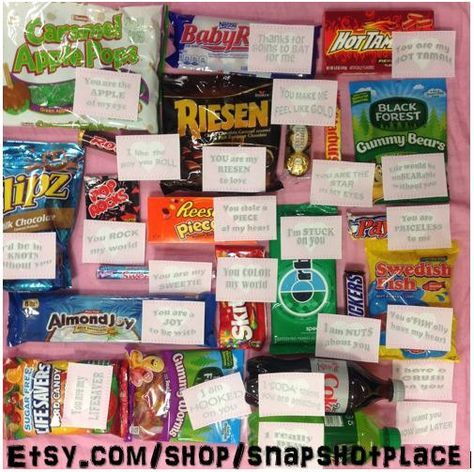 Candy Love - Love sayings that match candy