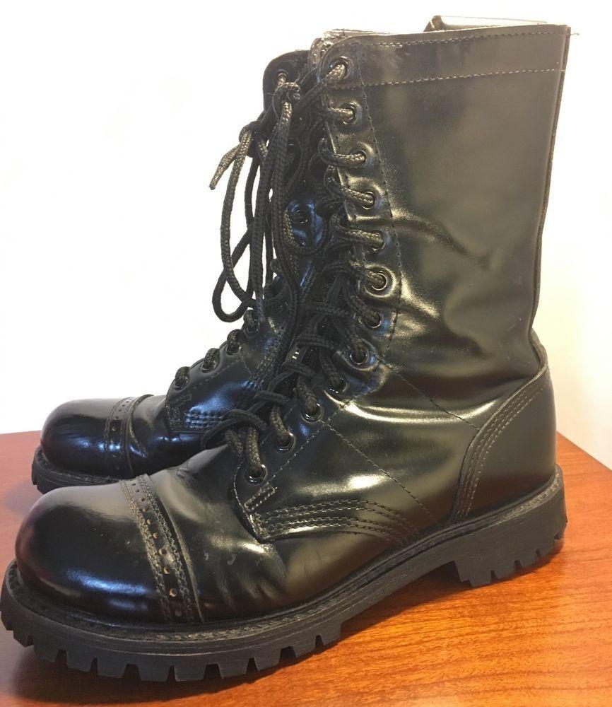 8a993fe1448 Corcoran Mens 10 Inch Side Zipper Jump Work Boot Black 10 Inch Side Zipper Jump  Boot-M ...