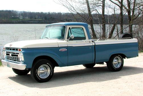 1966 Ford F100 With Images Old Pickup Trucks Ford Pickup