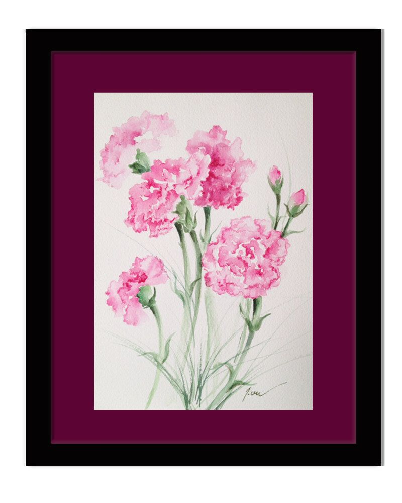 A personal favorite from my etsy shop httpsetsylisting a personal favorite from my etsy shop httpsetsylisting261892279january birthday flowers pink carnations izmirmasajfo