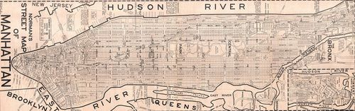 five historic maps of manhattans morphing borders cool map thing curbed ny