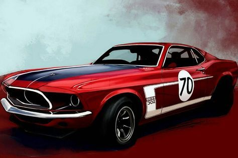42 ideas classic cars poster ford mustangs for 2019