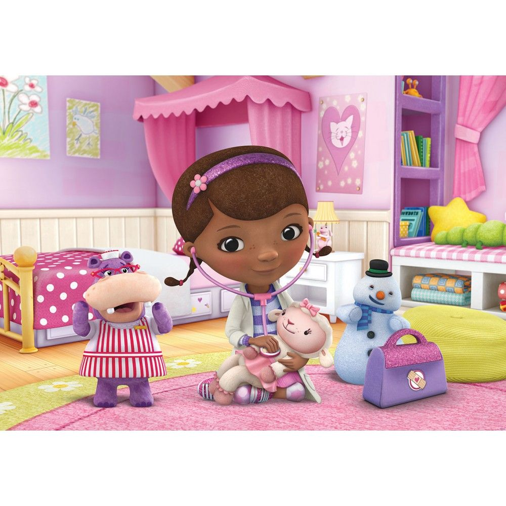 This is an image of Fabulous Doc Mcstuffins Background