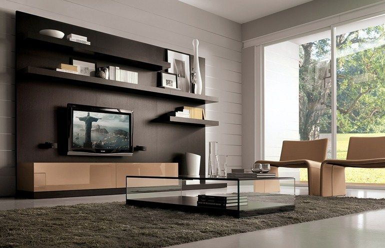 Mueble modular de pared laltrogiorno 822 colección laltrogiorno by tumidei diseño architetti associati marelli e