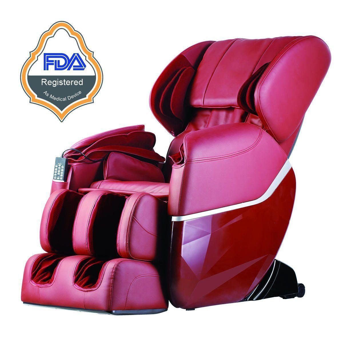 Details about New Electric Full Body Shiatsu Massage Chair