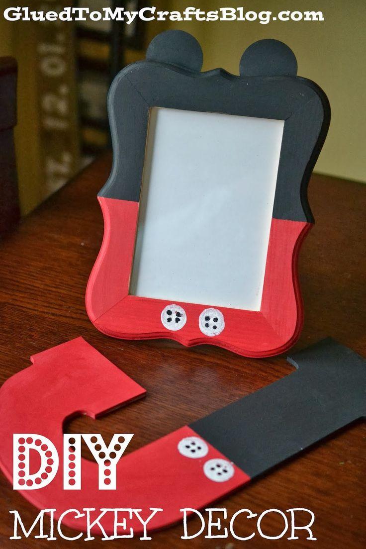 DIY Mickey Decor | Disney Crafts | Disney Crafts DIY | Disney Crafts for Kids | Disney Crafts for Teens | Disney Crafts for Adults |