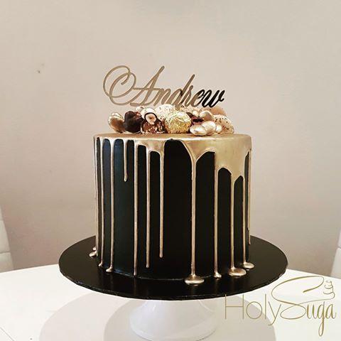 Pin By Carmen Sarg On Birthday 25th Birthday Cakes Elegant