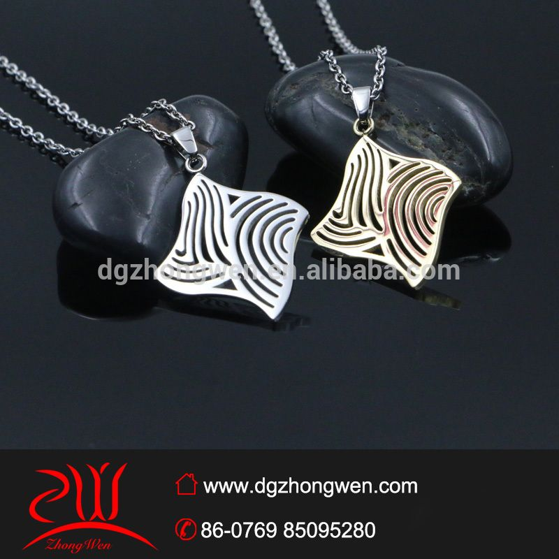 jewelry trends 2016 stainless steel simple pendant designs hollow pendant for female