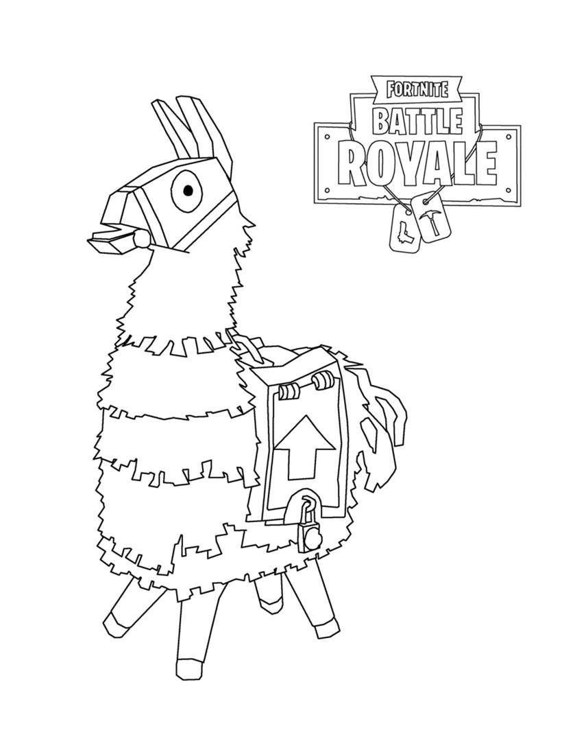Fortnite Coloring Pages Clipart Battle Royale Lama 20 Cool Coloring Pages Disney Coloring Pages Animal Coloring Pages
