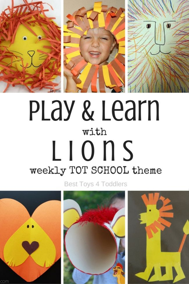 Letter L - Lion Theme for Tot School and Preschool | Tot ...