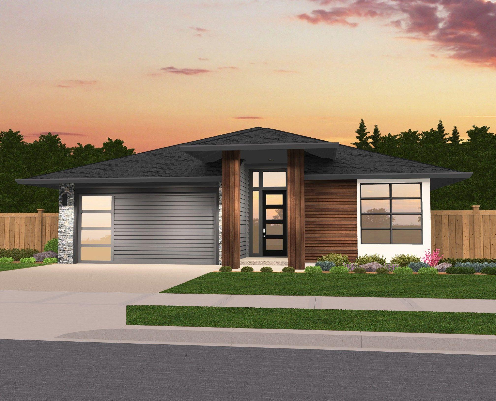 Brooke house plan modern house plans by mark stewart