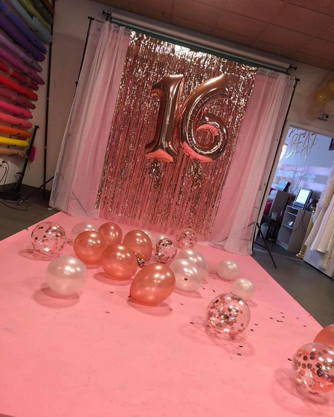 Sweet 16 Ideen Fur Den 16 Geburtstag Pink Dots Partystore