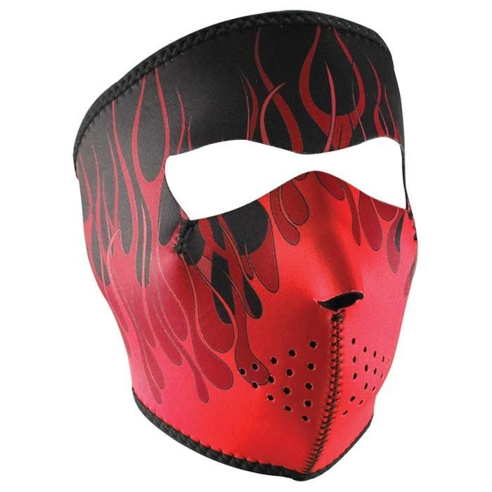 Photo of NEO FACE MASK RED FLAMES