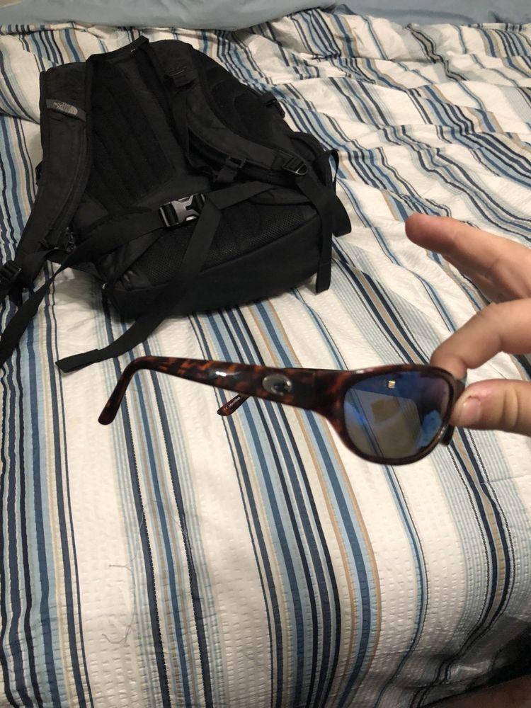 7bf716b086 COSTA Del Mar Triple Tail TT 10 Sunglasses. Tortoise Shell Frame. Blue  Lenses.