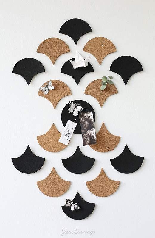 diy un panneau mural en li ge decoration parement. Black Bedroom Furniture Sets. Home Design Ideas