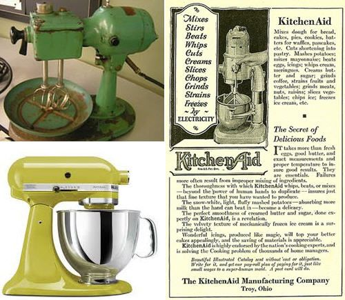 THROW BACK THURSDAY then and now KitchenAid Stand Mixers In - kitchenaid küchenmaschine rot