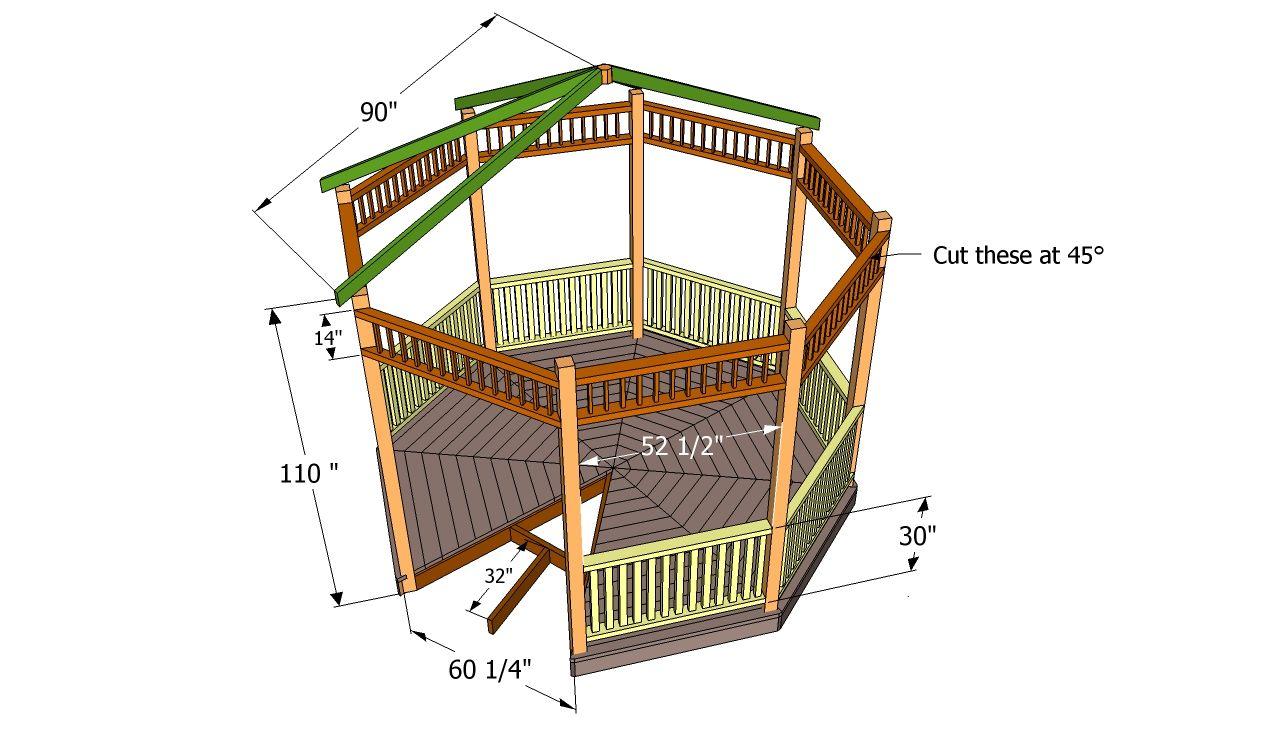 free gazebo blueprints garden shed plans by lr designs shed