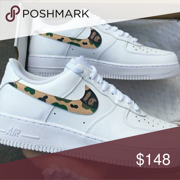 fc1671dd7efad1 Bape air force one custom Brand new bape air force one custom Jordan Shoes  Sneakers