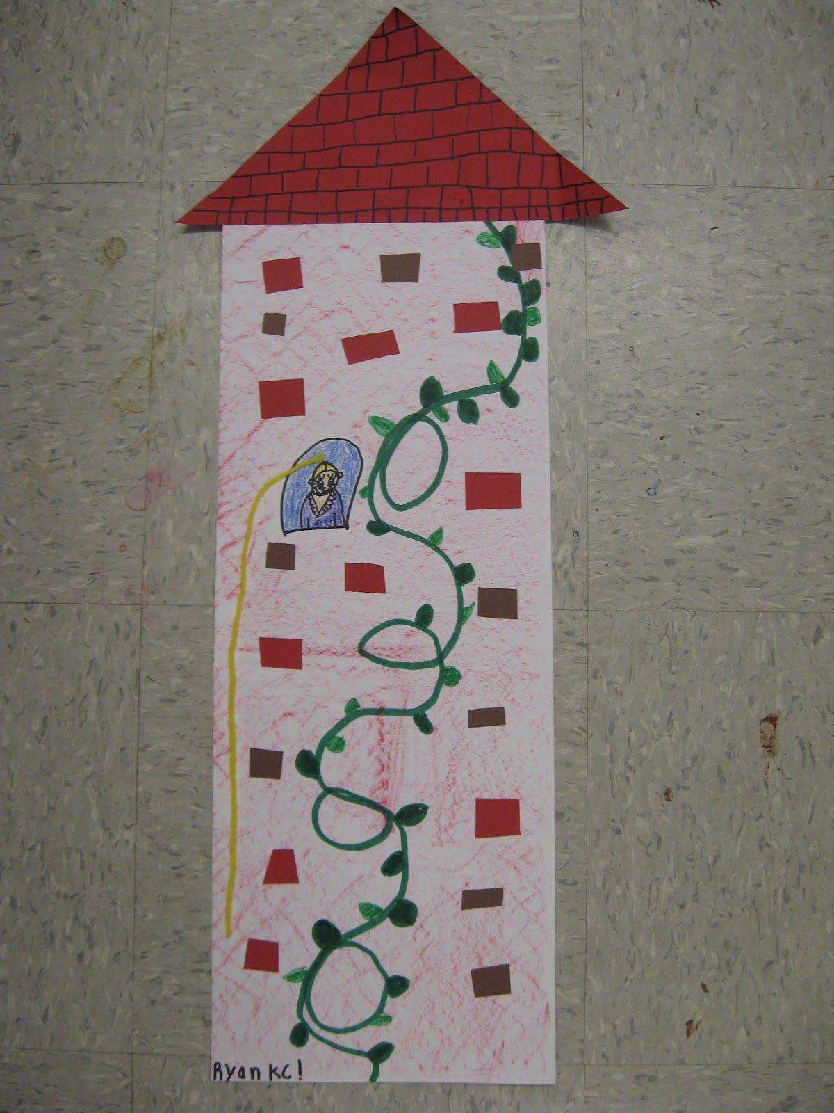 Kinder Texture Lesson Jamestown Elementary Art Blog Kindergarten Rapunzel Amp Tower