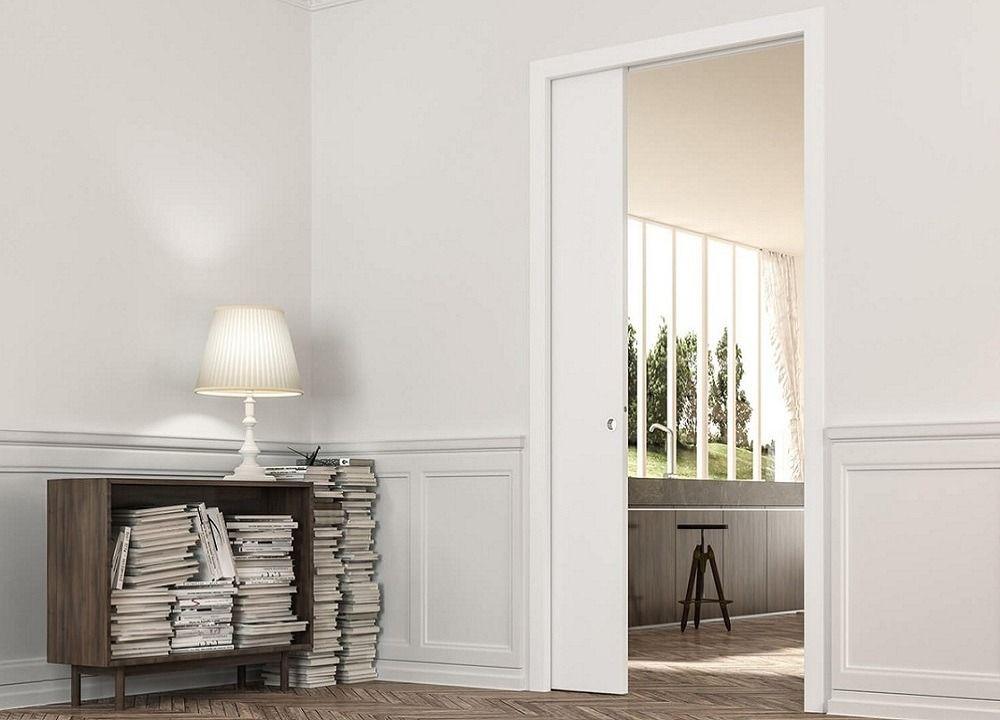 Eclisse Classic Single Pocket Frame Kit In 2020 Pocket Doors Sliding Pocket Doors Architrave