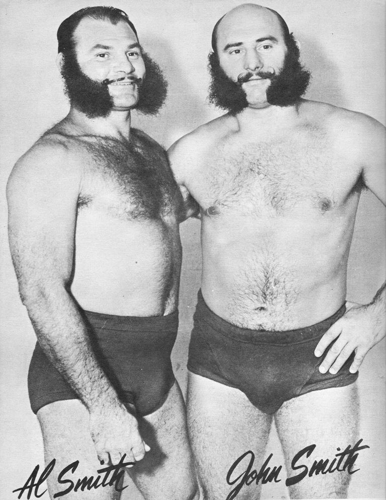 1950 wrestling photos smith brothers | The Smith Brothers