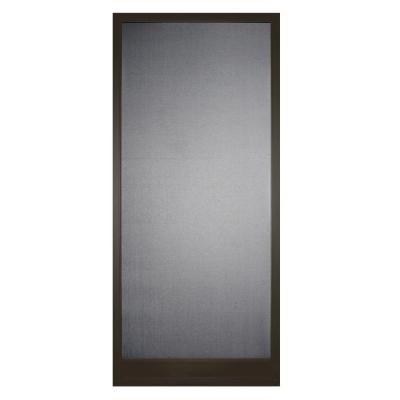Screen Tight 32 in. x 80 in. Steel Bronze Bay Breeze Screen Door - BBRZ32BZ - The Home Depot