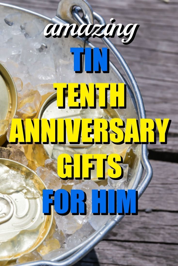 100 Traditional Tin 10th Anniversary Gifts For Him Marriage