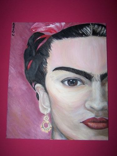 Frida Kahlo My art for more please visit nting in