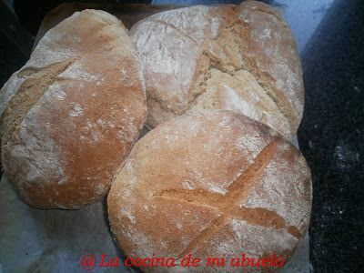 La cocina de mi abuelo: Pan de maíz y trigo